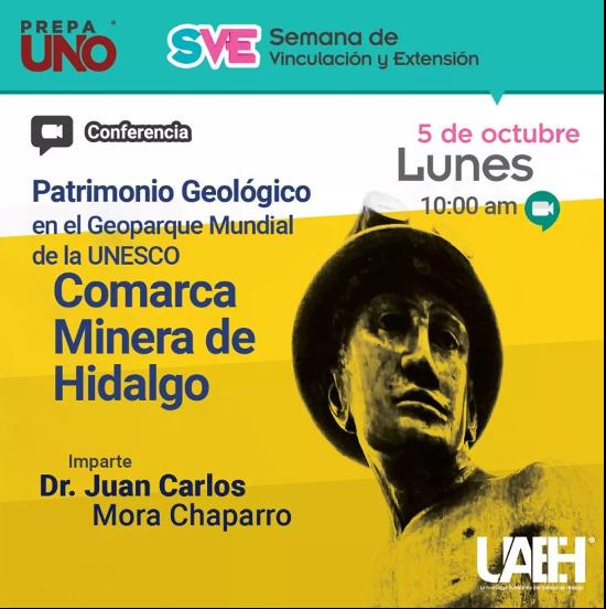 Conferencia Patrimonio Geológico